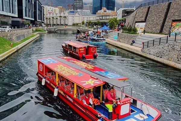 Canal Boats link the V&A to the CBD