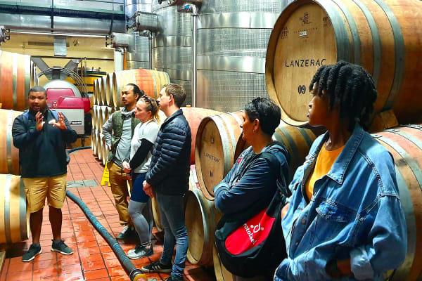 Lanzerac Wine Cellar