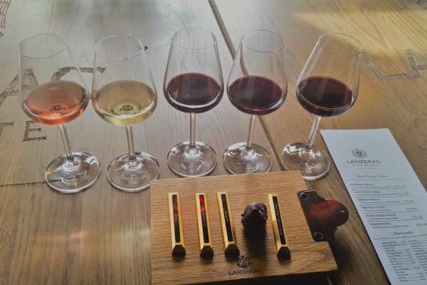 Lanzerac Wine Tasting