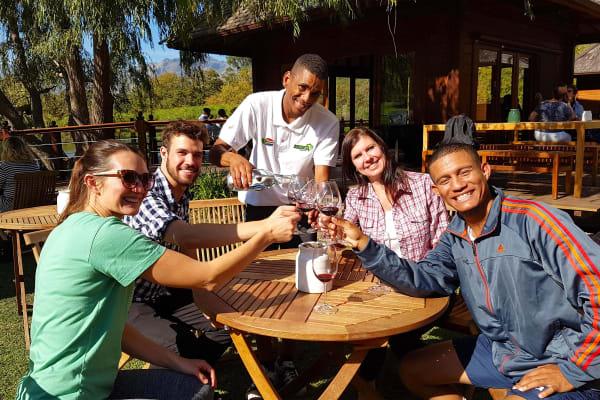 Stark Conde Outdoor Wine Tasting