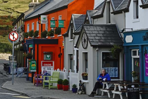 Charming village amongst the Connemara Mountains