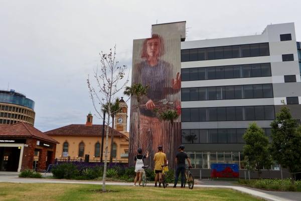 Local art murals