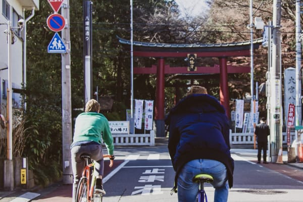 Experience Tokyo from the saddle
