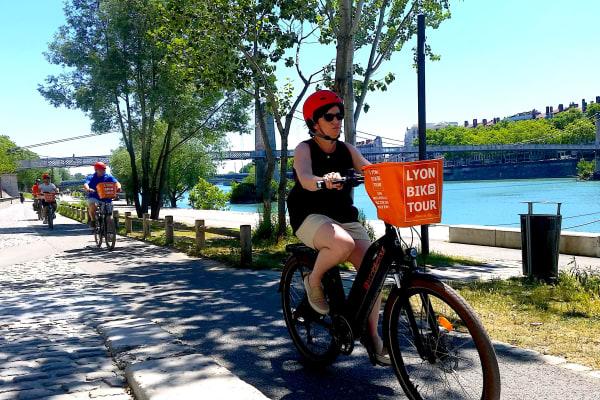 Biking along the Rhone