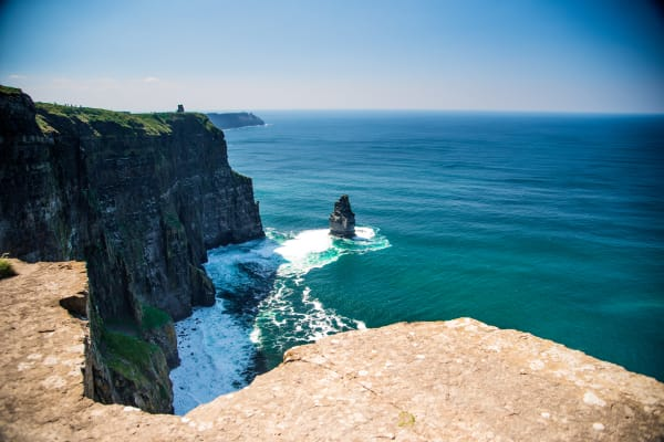 Our 90 min stop at the Cliffs of Moher includes the entrance to the official Cliffs of Moher Site as well as the official indoor visitor center