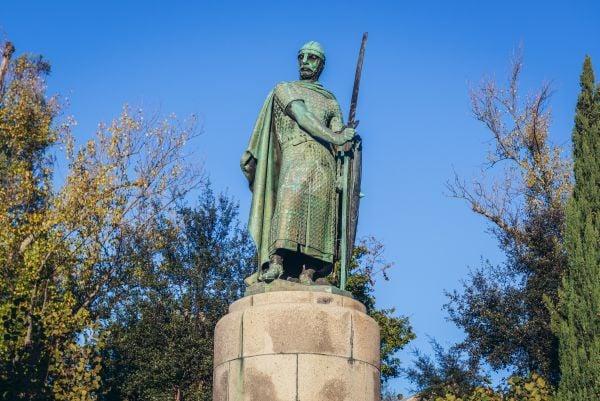 Statue of Dom Afonso Henriques