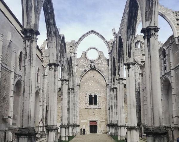 Ruínas do Convento do Carmo