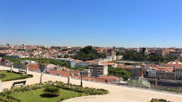 Jardim e Miradouro São Pedro de Alcântara